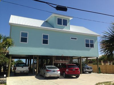 Photo for New Coastal Style Barefoot Beach House - Private Beach, Family Friendly Rental