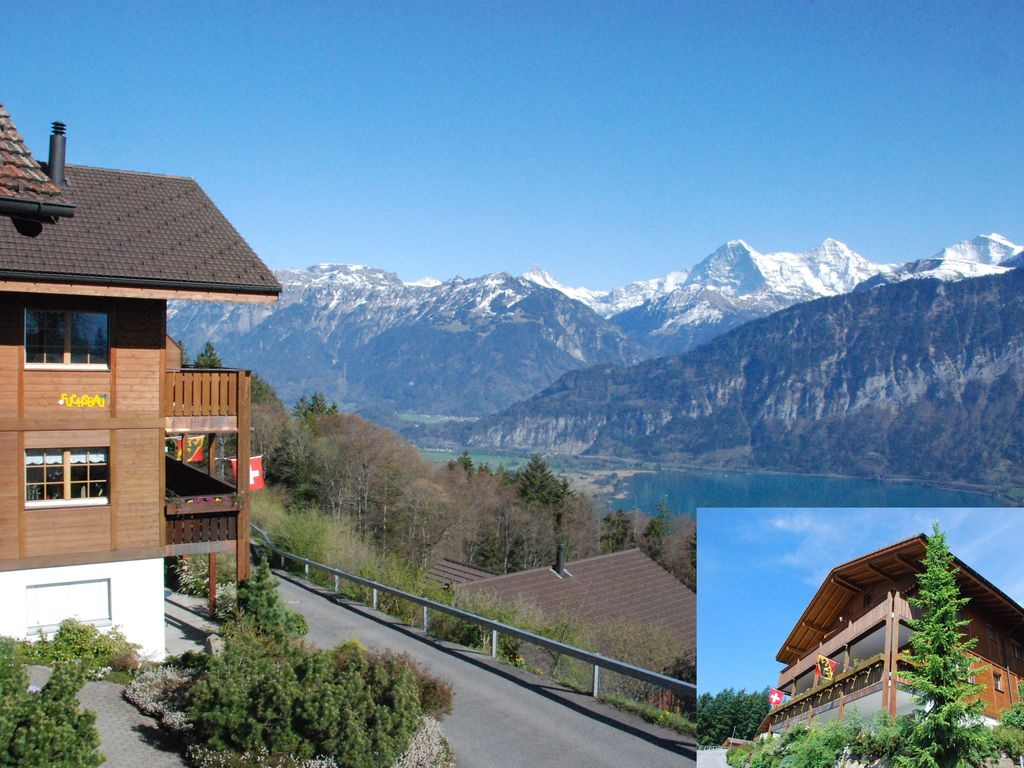 Recovery with fantastic views of the Eiger Mönch Jungfrau and Lake Thun & Recovery with fantastic views of the... - HomeAway Beatenberg pezcame.com