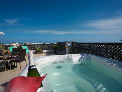 Photo for Penthouse With Jacuzzi And Stunning Sea And Mountain Views
