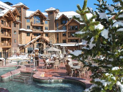 Photo for Record Snow! Luxury for the Family. Breckenridge Ski-In/Ski-Out. Sleeps 12.