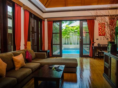 Photo for Kayan Villa, Private Pool, 2 Bedrooms, Maenam Self 1