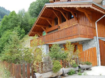 Photo for Beautiful chalet in the nice village centre, on the south.
