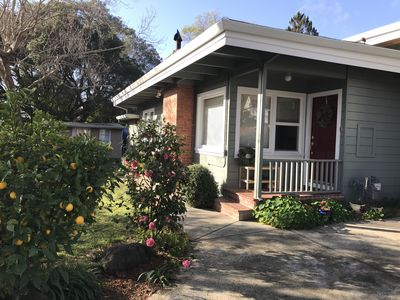 Photo for Newly remodeled home in flat, sunny, quiet Mill Valley neighborhood