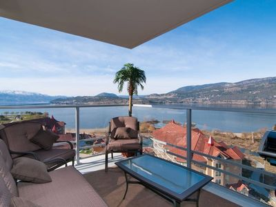 Photo for Stunning 16th Floor Lakeviews Kelowna's Skye Tower