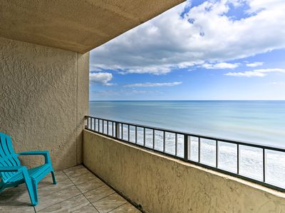 Photo for Oceanfront Myrtle Beach Studio Condo w/ Views!