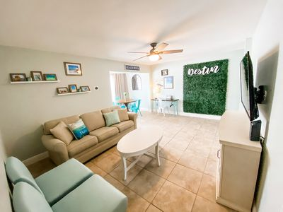 Photo for Photo Op Condo. 1 mile to Beach. Clean and Cozy!