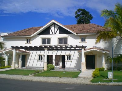 Photo for TownHouse 36A Punta Cana Village