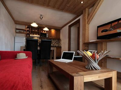 Photo for 2BR Apartment Vacation Rental in BOURG ST MAURICE