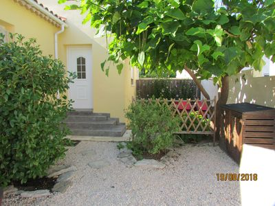 Photo for Maisonette ideally located in the charming village of Gallargues le Montueux