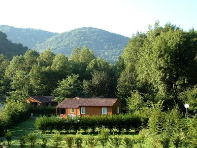 Photo for Camping L'Arize **** - Chalet Wood 4 Rooms 6 People