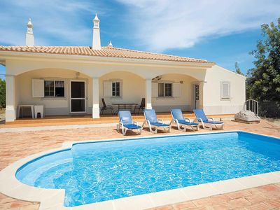 Photo for 3 bedroom Villa, sleeps 6 in Agostos with Pool, Air Con and WiFi