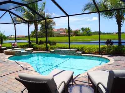 Photo for AMADOR - Luxury 4/4 Home within Fiddler's Creek Resort Community