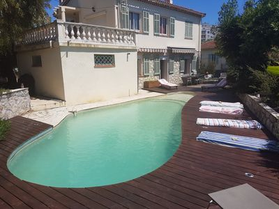 Photo for Haven of peace near downtown and beaches Antibes / Juan les Pins