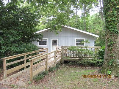 Photo for Comfortable and updated cottage with  room for your trailer and boat