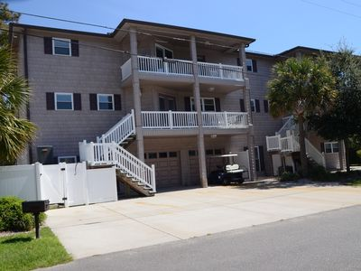 Photo for Family Beach House, Ocean View, Private Heated Pool, Game-Room Lots of Bathrooms