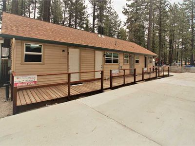 Photo for Big Bear 4 Seasons Four-Walk to The Village, Park and Lake with WiFi! FREE 2 HR Bike Rental