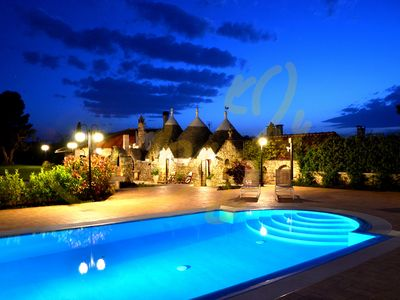 Photo for TRULLI OTTOMANO - Villa for 6 people in Castellana Grotte