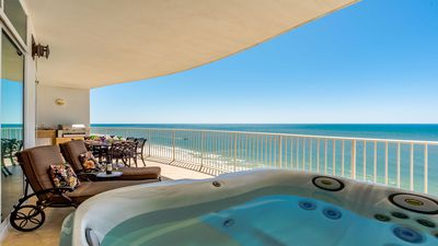 Turquoise Place 1505D Balcony - Awesome views from the Jacuzzi!!
