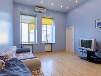 Photo for Apartment 156 m from the center of Kiev with Internet, Air conditioning, Lift, Washing machine (405750)