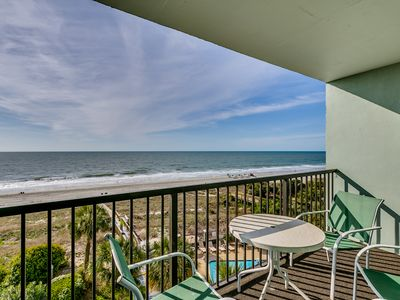 Large Oceanfront Two Bedroom Two Bath Condo at Carolina Dunes! (4th Floor)