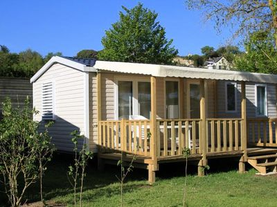 Photo for Camping Isle Verte **** - 4 room cottage 6 people