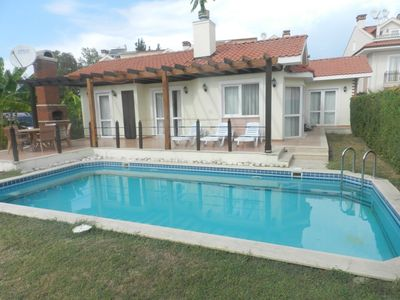 Photo for Villa  B 03 Private Villa with 3 Bedrooms in Fethiye. With pool&garden located on  Village in Fethiye Yaniklar.