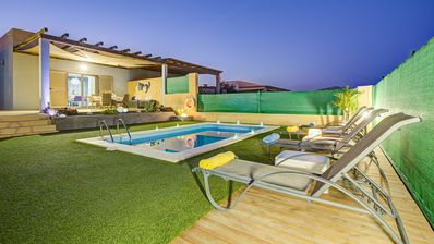 Photo for superb luxury villa in the canaries