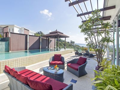 Photo for Spectacular 3 Bedroom Private Pool Sea View
