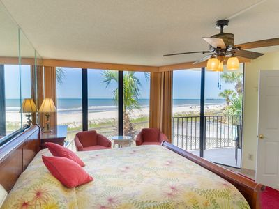 Photo for Open 5/22 Spring/Summer! 2nd floor, 1BD/2BA Deluxe, Oceanfront King Master, Garden Tub. Free WiFi