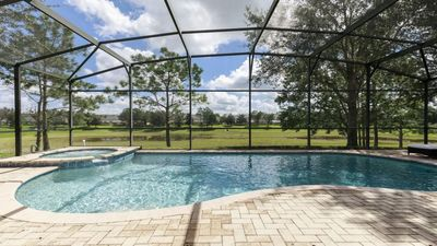Photo for *NEW* Luxury Pool Villa - No Rear Neighbors, 2 miles to Disney