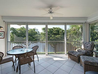 Photo for Beautiful Bonita Bay second floor condo with an outstanding water view.