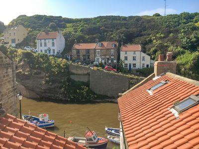 Photo for Beautifully refurbished cottage in the heart of Staithes - with stunning views
