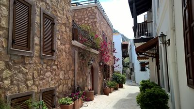 Photo for Beautiful Village House With Plunge Pool, In The Heart Of Kalkan Old Town