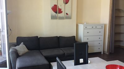 Photo for Nice apartment facing the sea, furnished T3, 50 m², near the Mucem
