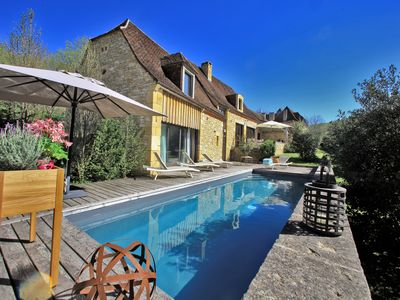 Photo for Luxury House - Magnificent 5 * Near SARLAT- Private Heated Pool
