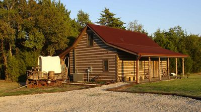 Photo for Rustic/Luxury Cabin Rental