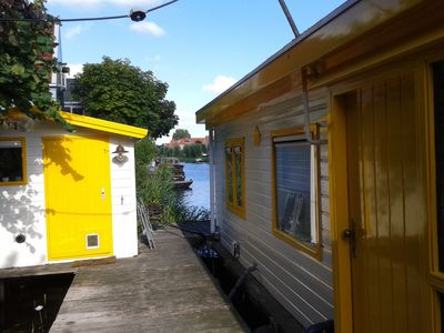 Photo for Artist's houseboat, stunning location