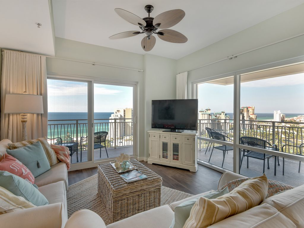 17th floor penthouse style beach gulf vi vrbo for 17th floor concert schedule