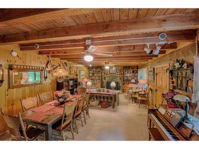 Photo for Mountain Song - 5 BD/3 BA Beautiful log cabin in private setting with large front porch & great view