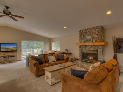 Photo for Spacious Tahoe Keys Home, Private Dock, BBQ and Large Backyard, Tahoe Island House