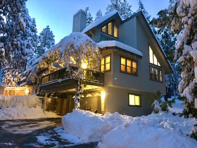 Photo for Book your winter retreat on the edge of the Stanislaus National Forest!