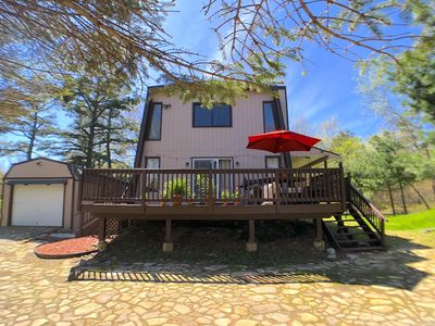 Photo for Gorgeous 3BR 2BATH HOME in Beautiful Pocono Mountains, sleeps 6, Fireplace