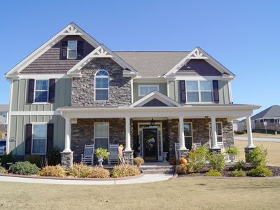 Photo for New Two Story Single Family home 10 minutes from Augusta National