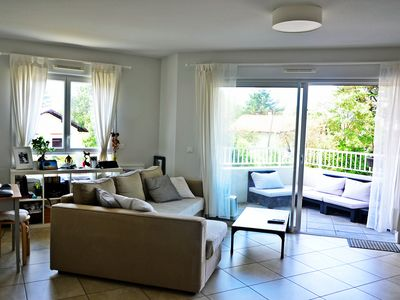 Photo for Apartment T3 nine + terrace 300 m from the beach