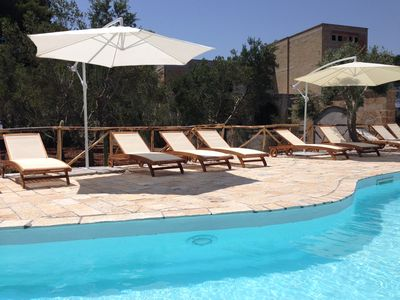 Photo for Villa with swimming pool 10 minutes from the sea