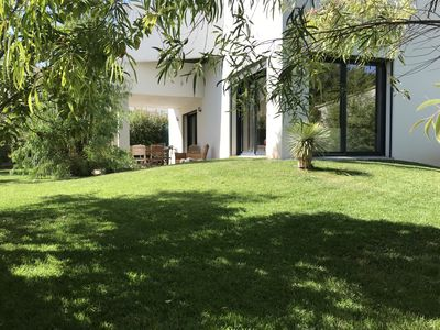 Photo for CAP D'AGDE New villa great comfort 100m from the beach with garden 300m2