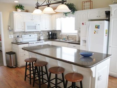 Photo for W1 118  Just steps from the ocean, enjoy this spacious open floor home year after year.