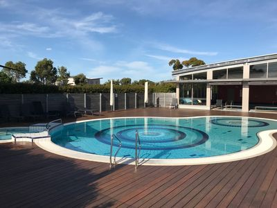 Photo for Loch Nest - heated indoor pool, gym, tennis, foxtel, wifi