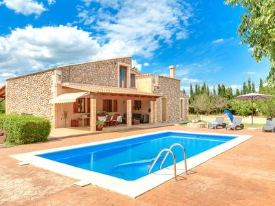 Photo for 4BR Villa Vacation Rental in Buger (Baleares)