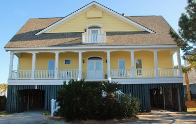 Photo for OCEANFRONT | BEACH HOUSE | SCREEN PORCH | ELEVATOR